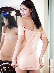 Pon is a sexy slim tgirl with legs that go on forever! This hot Asian Grooby girl has a sexy body, a great ass, hormone breasts and a delicious uncut
