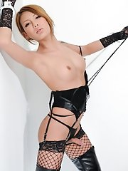 Japanese tgirl Rui Matsushita is in control and knows how to put you in your place. She knows how to get what she wants and she does so very well.